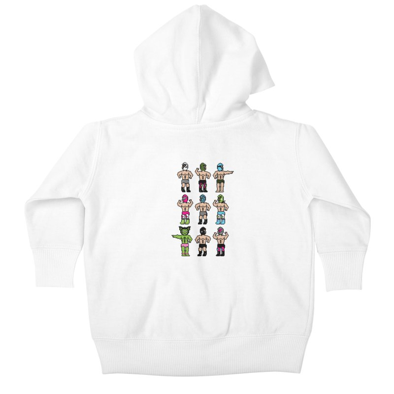 Wrestling maniacs Kids Baby Zip-Up Hoody by MagicMagic Artist Shop