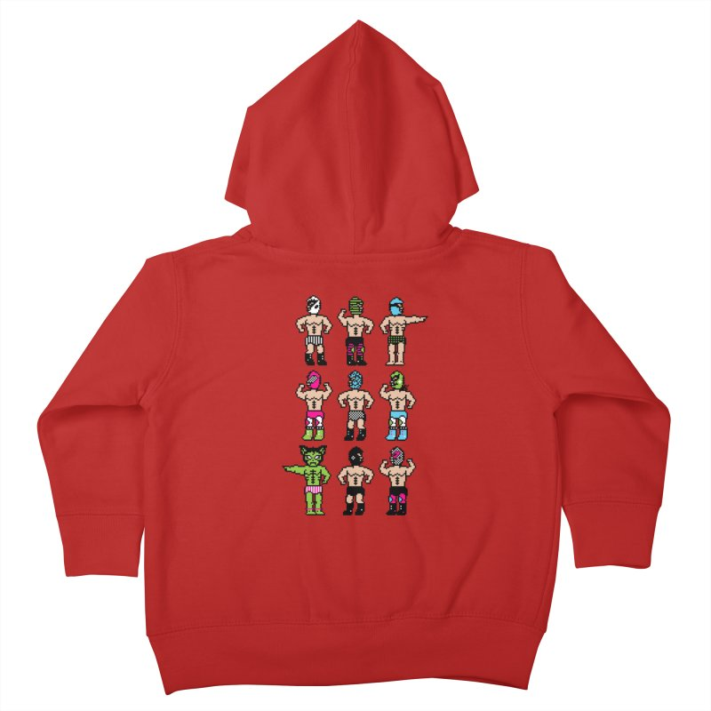 Wrestling maniacs Kids Toddler Zip-Up Hoody by MagicMagic Artist Shop
