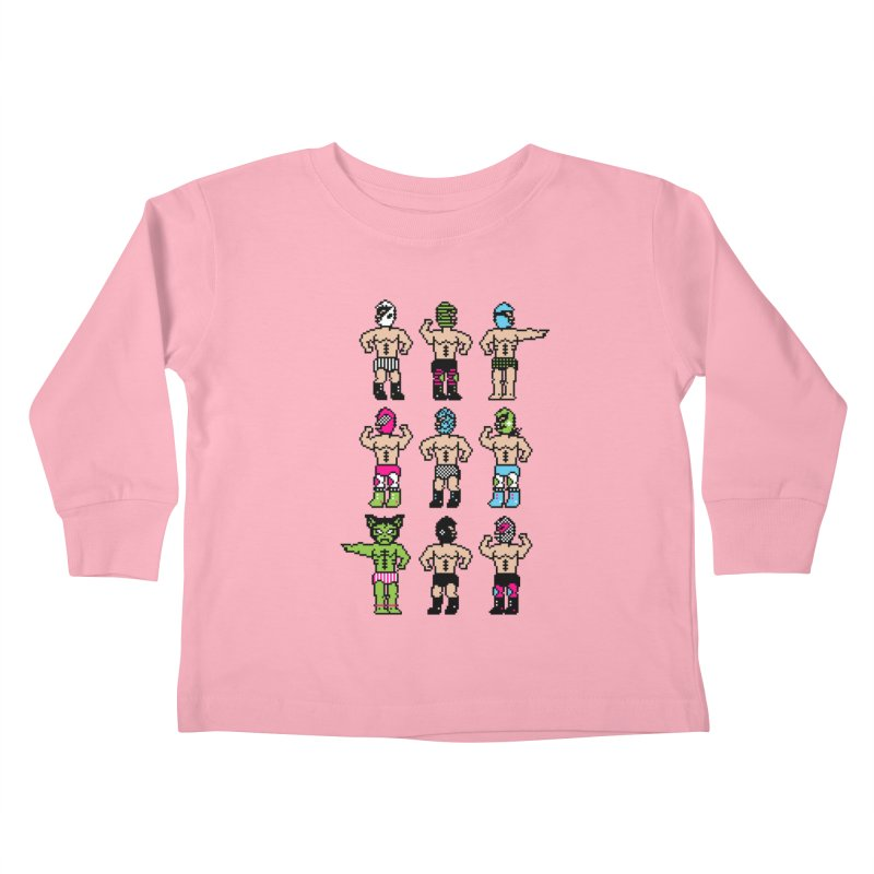 Wrestling maniacs Kids Toddler Longsleeve T-Shirt by magicmagic