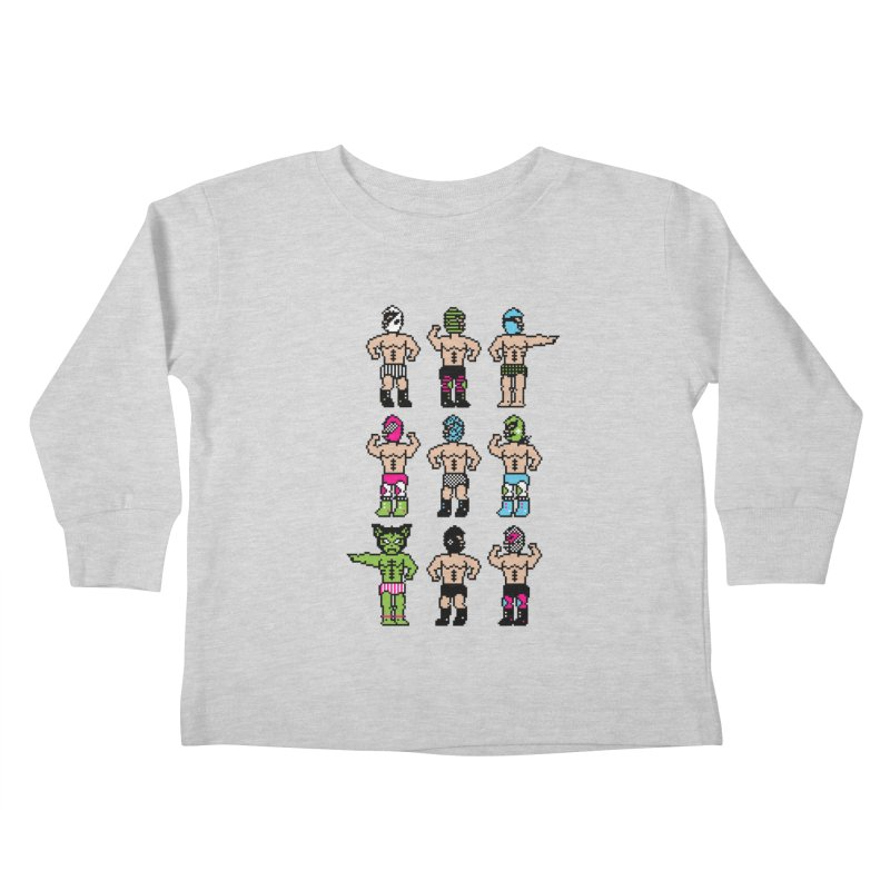 Wrestling maniacs Kids Toddler Longsleeve T-Shirt by MagicMagic Artist Shop