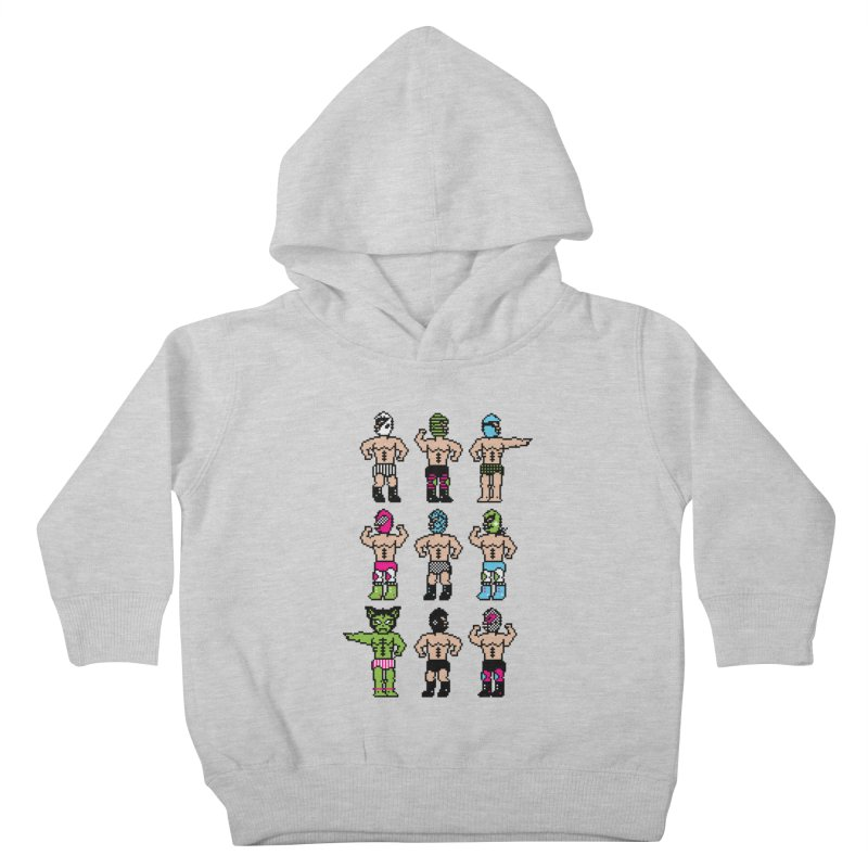 Wrestling maniacs Kids Toddler Pullover Hoody by MagicMagic Artist Shop