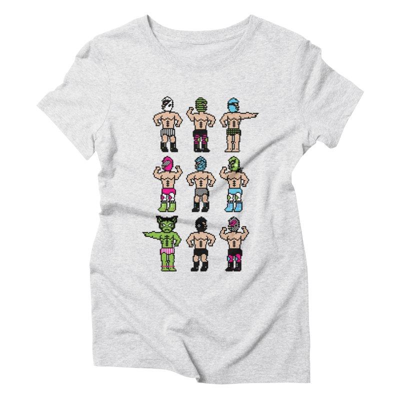 Wrestling maniacs Women's Triblend T-Shirt by MagicMagic Artist Shop