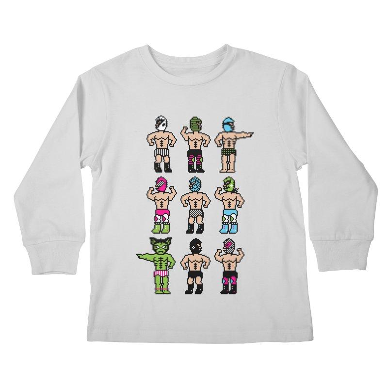 Wrestling maniacs Kids Longsleeve T-Shirt by magicmagic