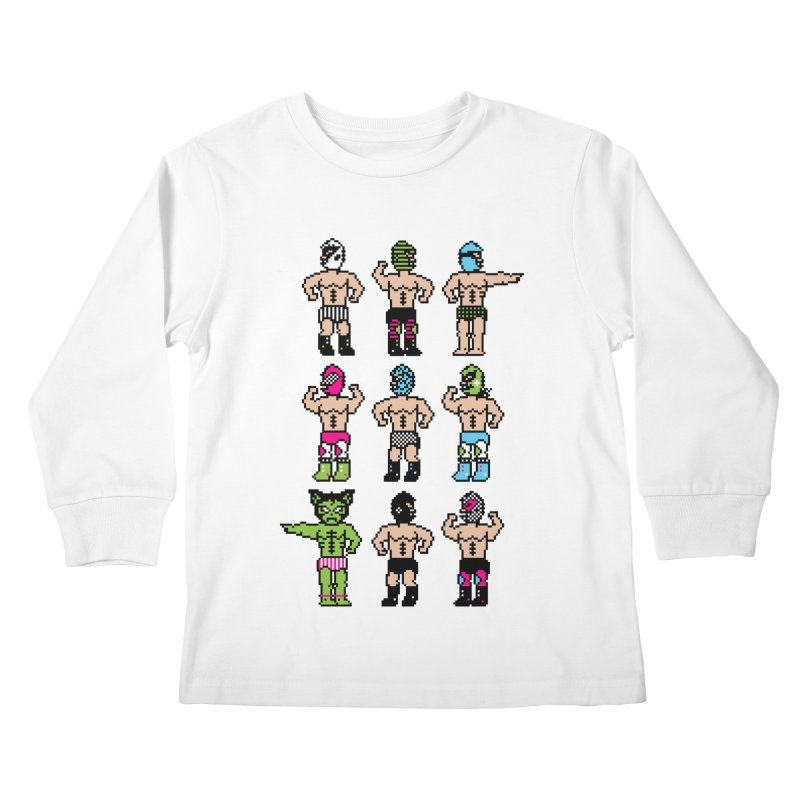 Wrestling maniacs Kids Longsleeve T-Shirt by magicmagic