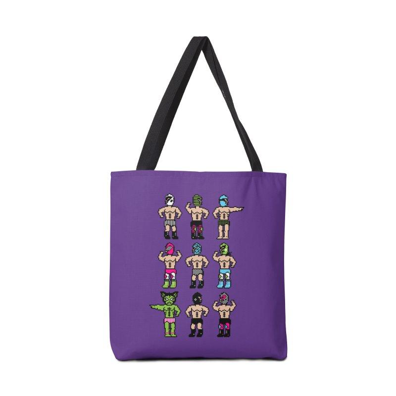 Wrestling maniacs Accessories Bag by MagicMagic Artist Shop