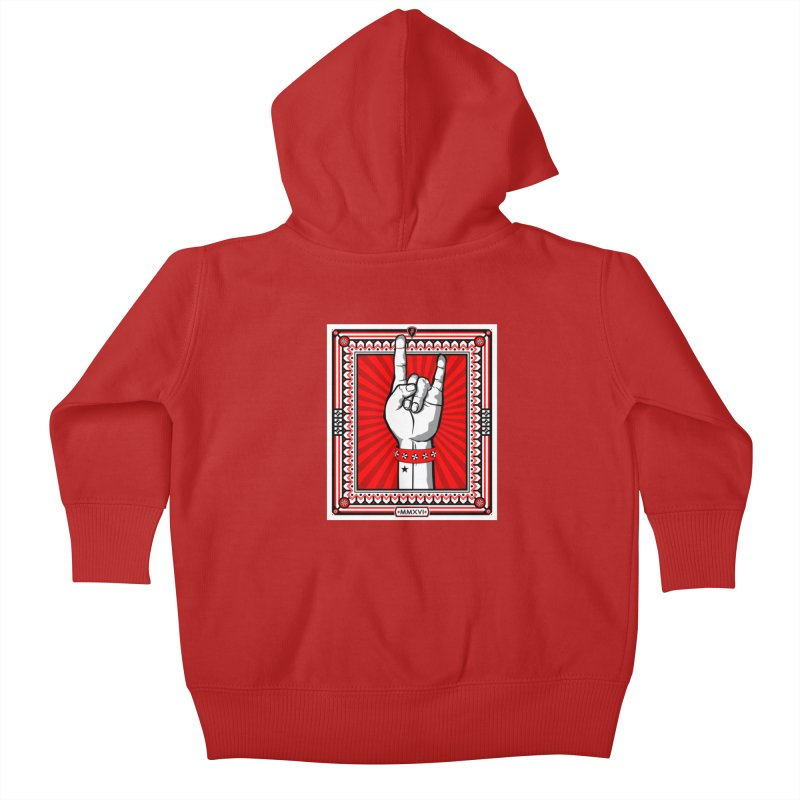 Glory Kids Baby Zip-Up Hoody by MagicMagic Artist Shop