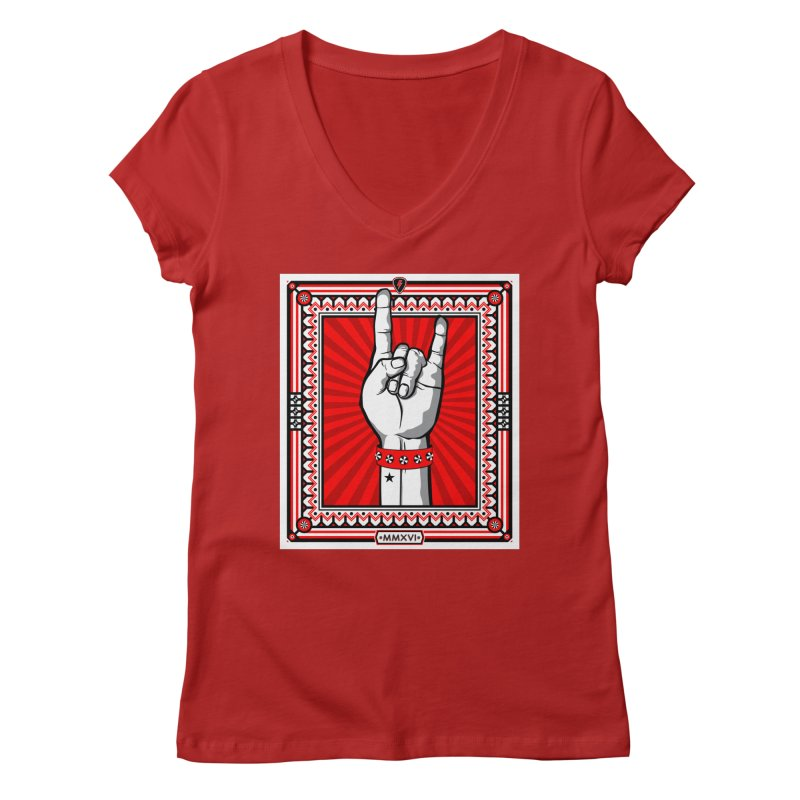 Glory Women's V-Neck by MagicMagic Artist Shop