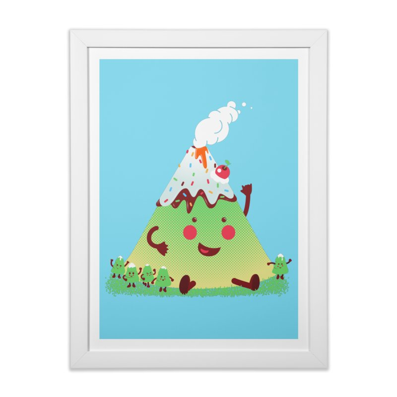Hill parade Home Framed Fine Art Print by magicmagic