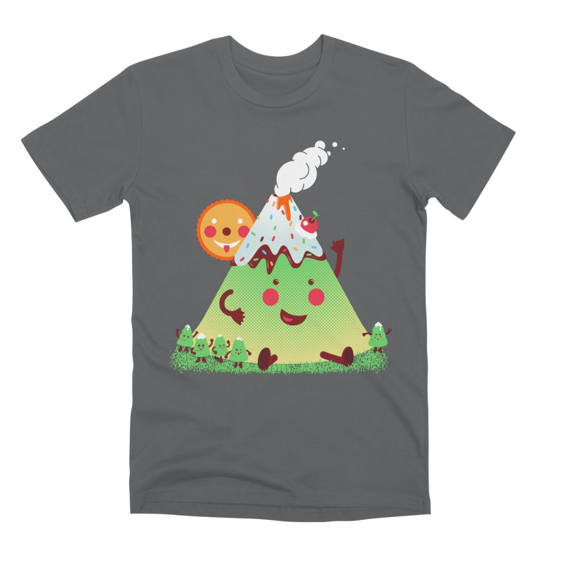 Hill parade Men's Premium T-Shirt by magicmagic