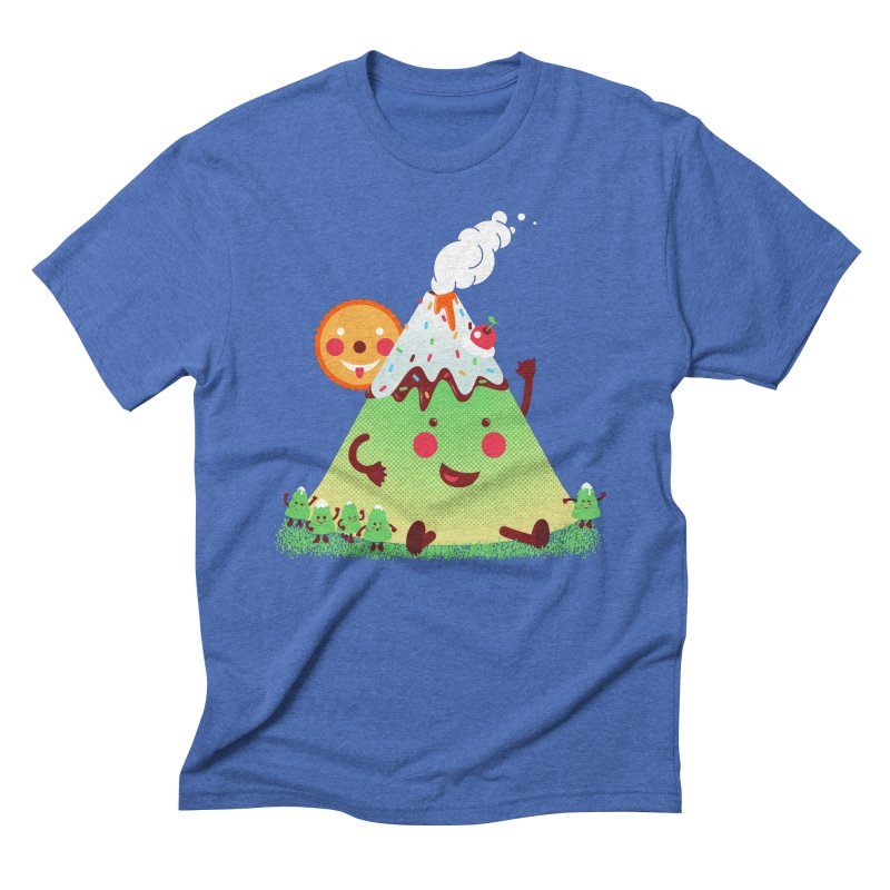 The Hill-arious Men's Triblend T-shirt by MagicMagic Artist Shop
