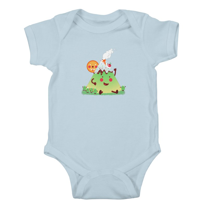 The Hill-arious Kids Baby Bodysuit by MagicMagic Artist Shop