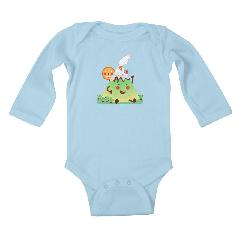 The Hill-arious Kids Baby Longsleeve Bodysuit by MagicMagic Artist Shop