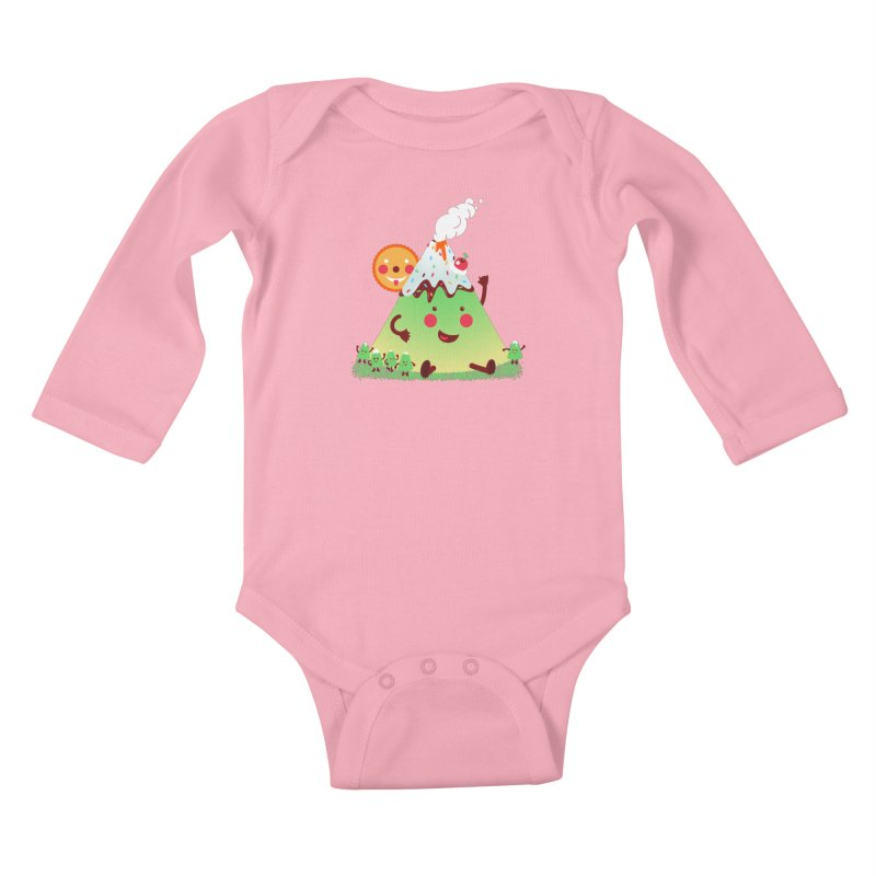 Hill parade Kids Baby Longsleeve Bodysuit by magicmagic