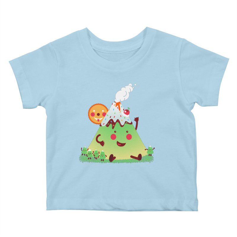 Hill parade Kids Baby T-Shirt by magicmagic