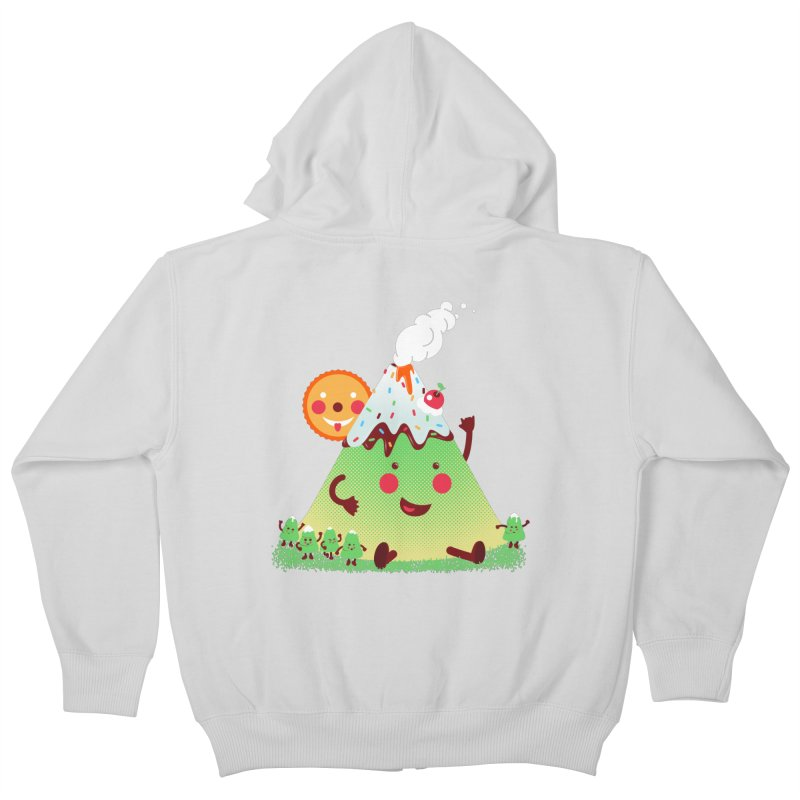 The Hill-arious Kids Zip-Up Hoody by MagicMagic Artist Shop