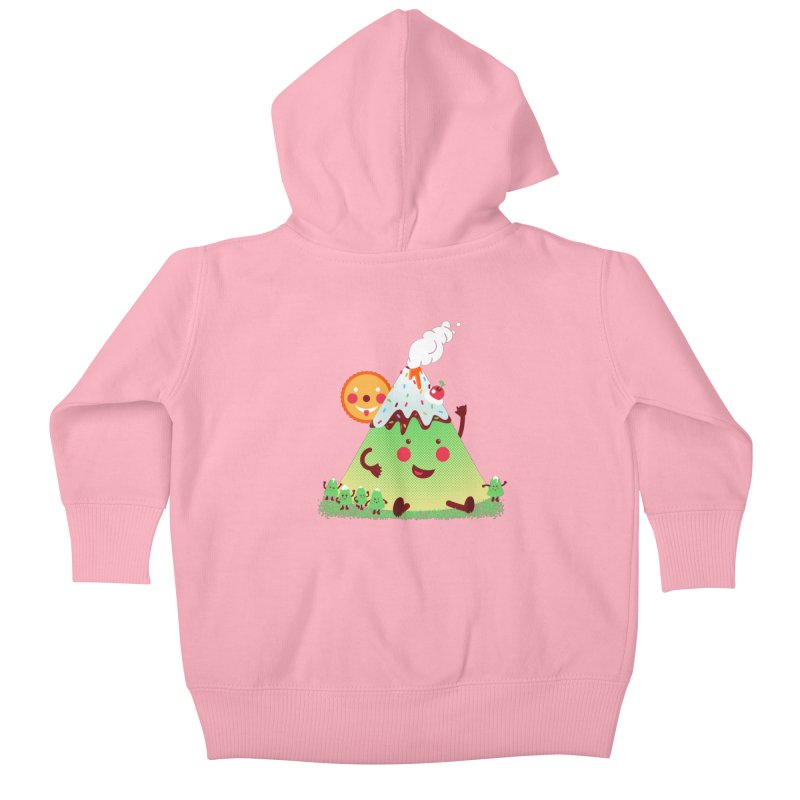 The Hill-arious Kids Baby Zip-Up Hoody by MagicMagic Artist Shop
