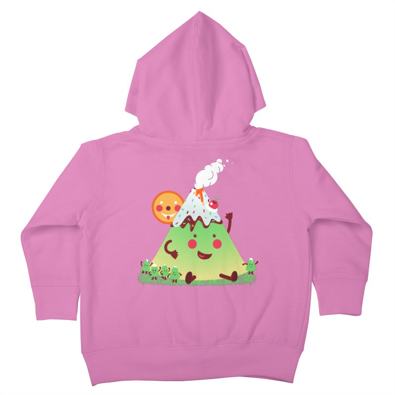 The Hill-arious Kids Toddler Zip-Up Hoody by MagicMagic Artist Shop