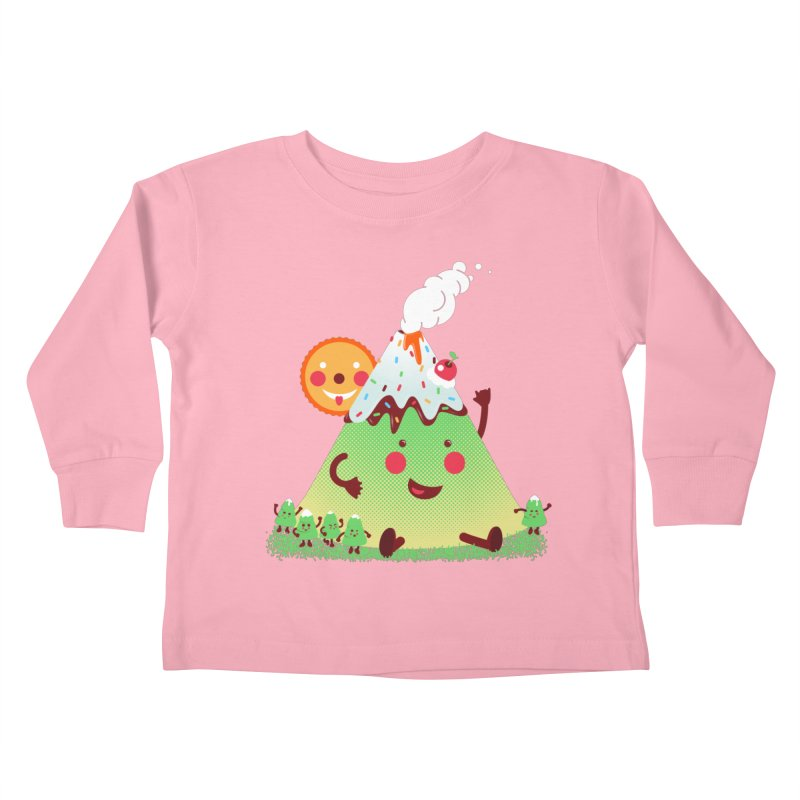 Hill parade Kids Toddler Longsleeve T-Shirt by magicmagic