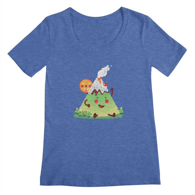 The Hill-arious Women's Scoopneck by MagicMagic Artist Shop