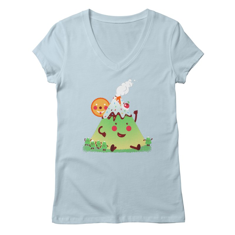 The Hill-arious Women's V-Neck by MagicMagic Artist Shop