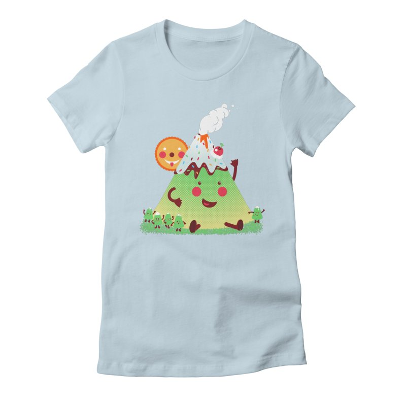 Hill parade Women's Fitted T-Shirt by magicmagic
