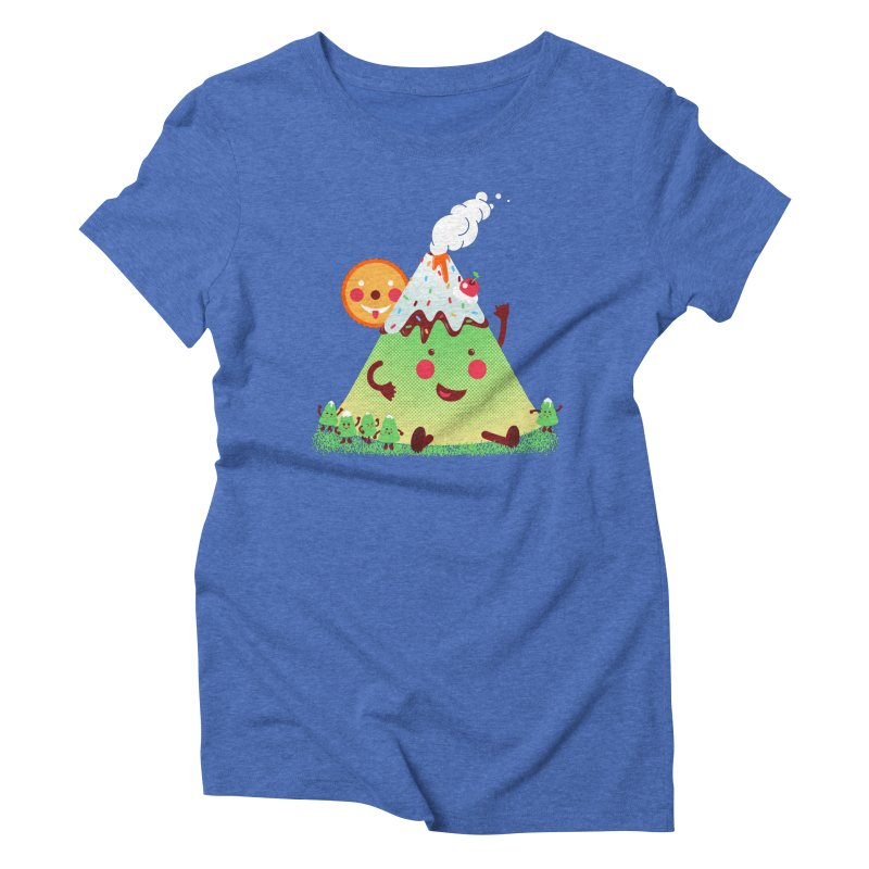 The Hill-arious Women's Triblend T-shirt by MagicMagic Artist Shop