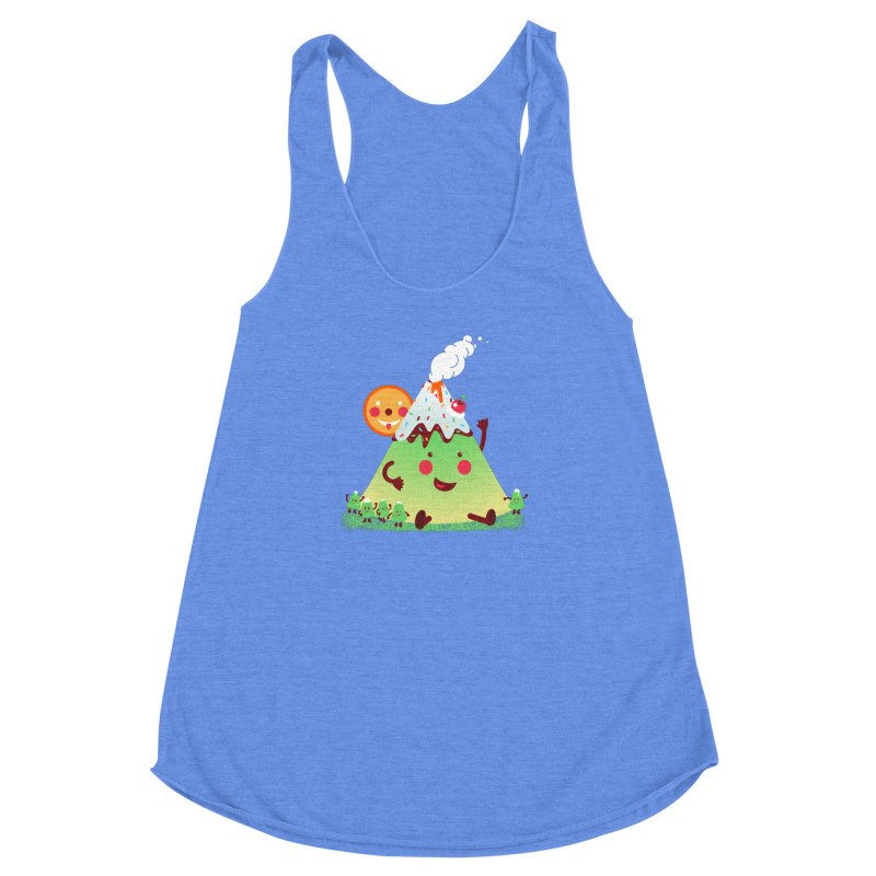 The Hill-arious Women's Racerback Triblend Tank by MagicMagic Artist Shop