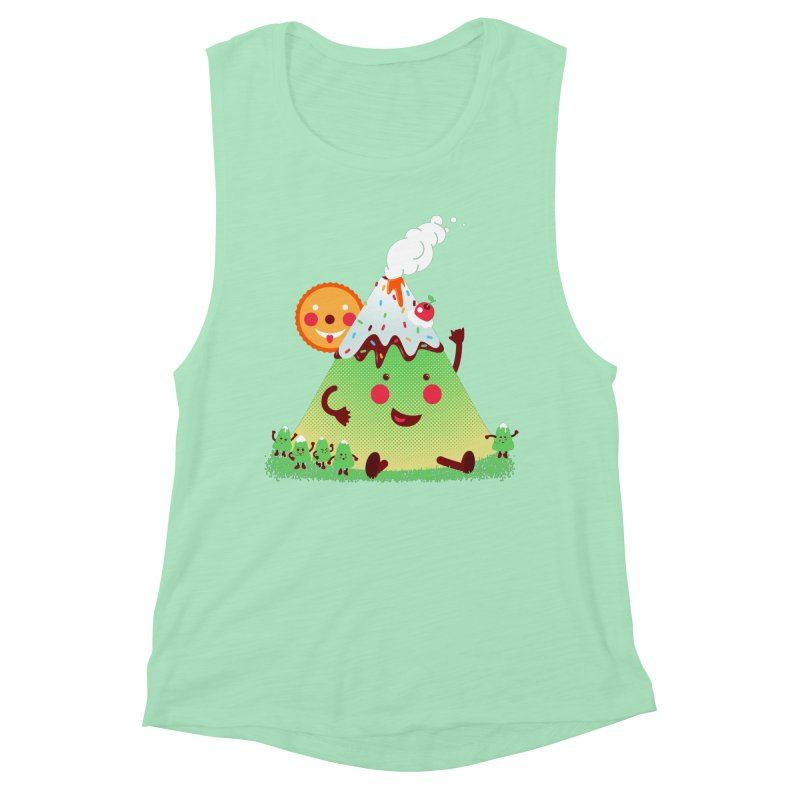 Hill parade Women's Muscle Tank by magicmagic