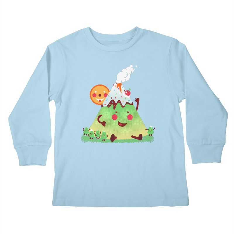 Hill parade Kids Longsleeve T-Shirt by magicmagic