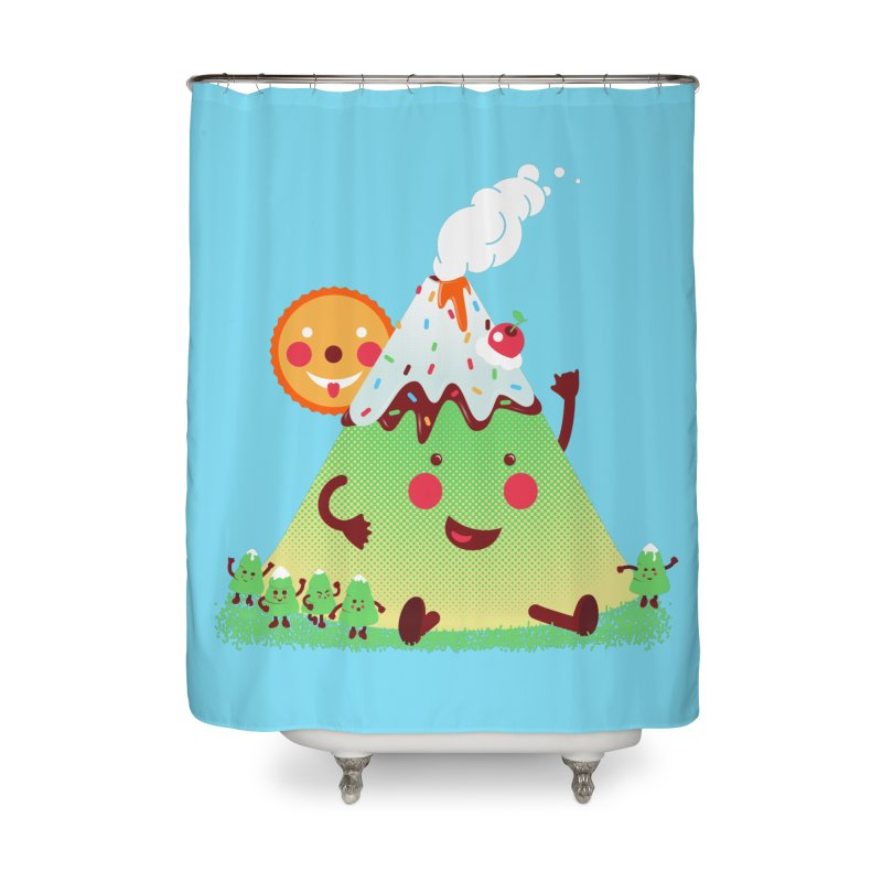 The Hill-arious Home Shower Curtain by MagicMagic Artist Shop