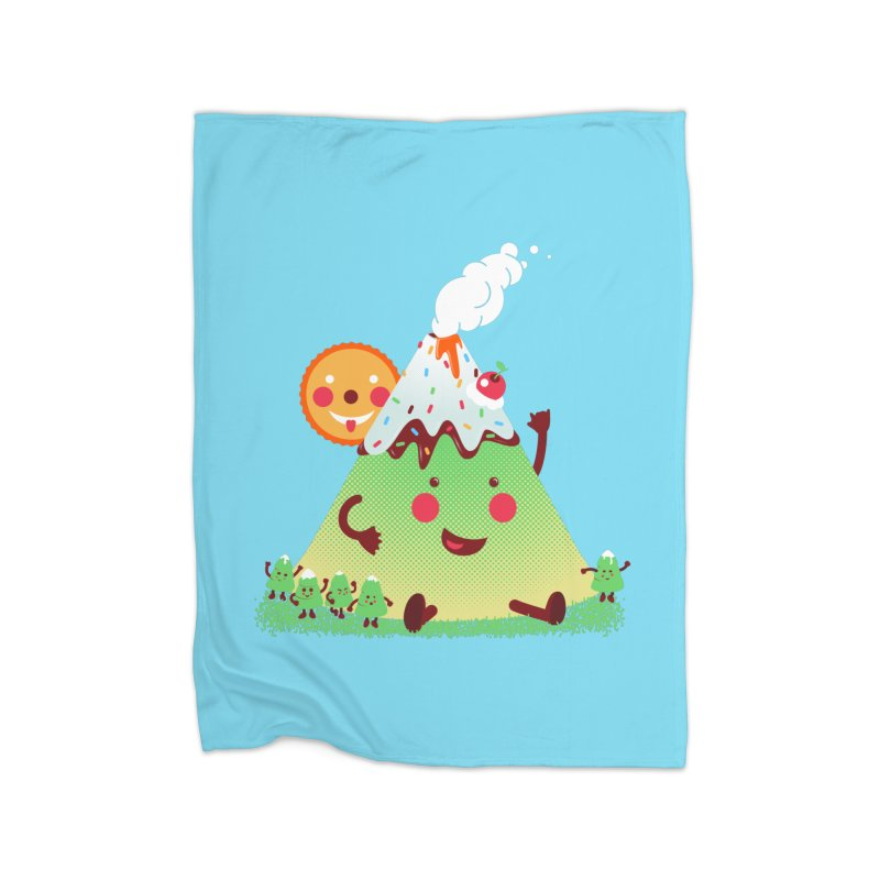 The Hill-arious Home Fleece Blanket by MagicMagic Artist Shop
