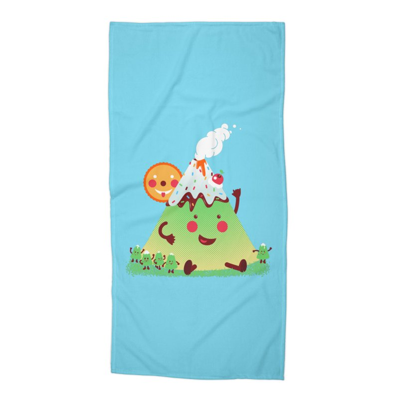 The Hill-arious Accessories Beach Towel by MagicMagic Artist Shop