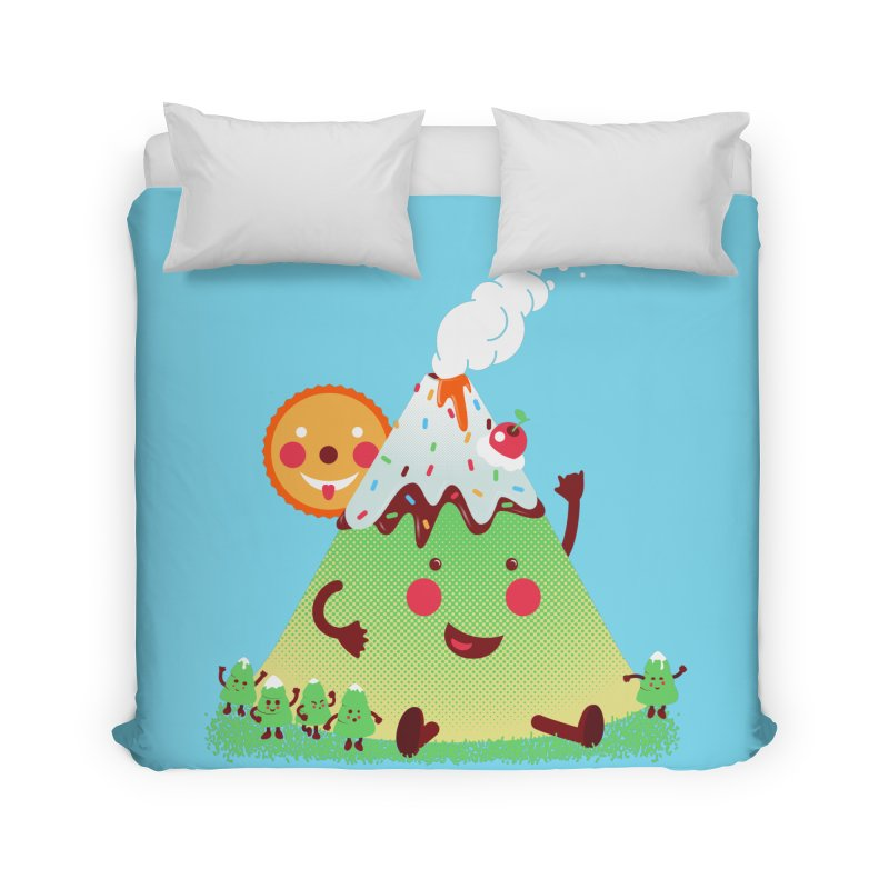 The Hill-arious Home Duvet by MagicMagic Artist Shop