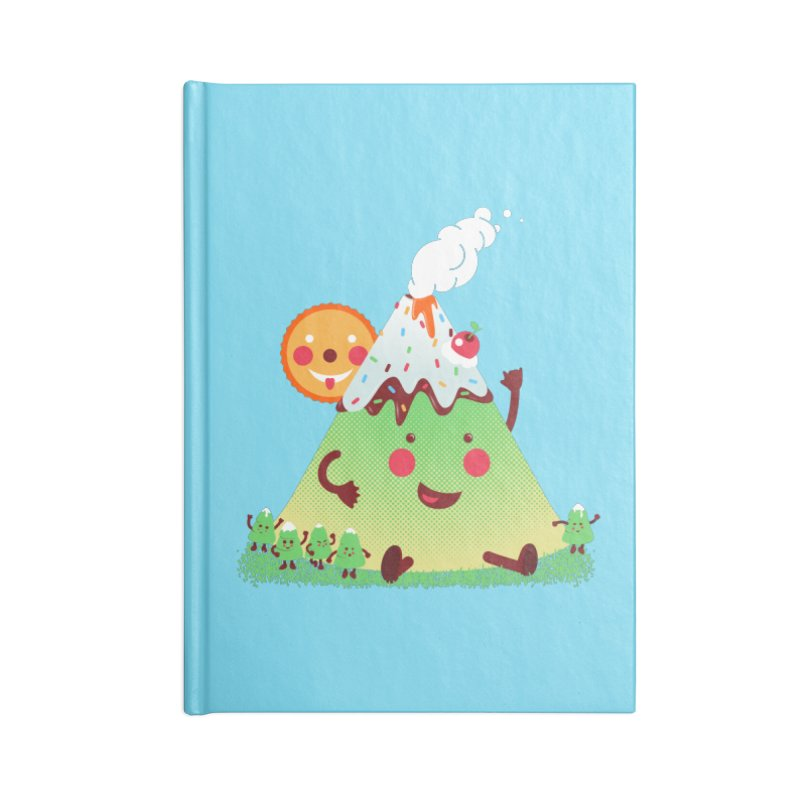 Hill parade Accessories Lined Journal Notebook by magicmagic