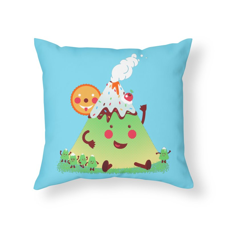 Hill parade Home Throw Pillow by magicmagic