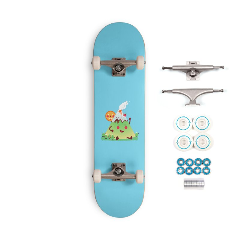 Hill parade Accessories Complete - Basic Skateboard by magicmagic