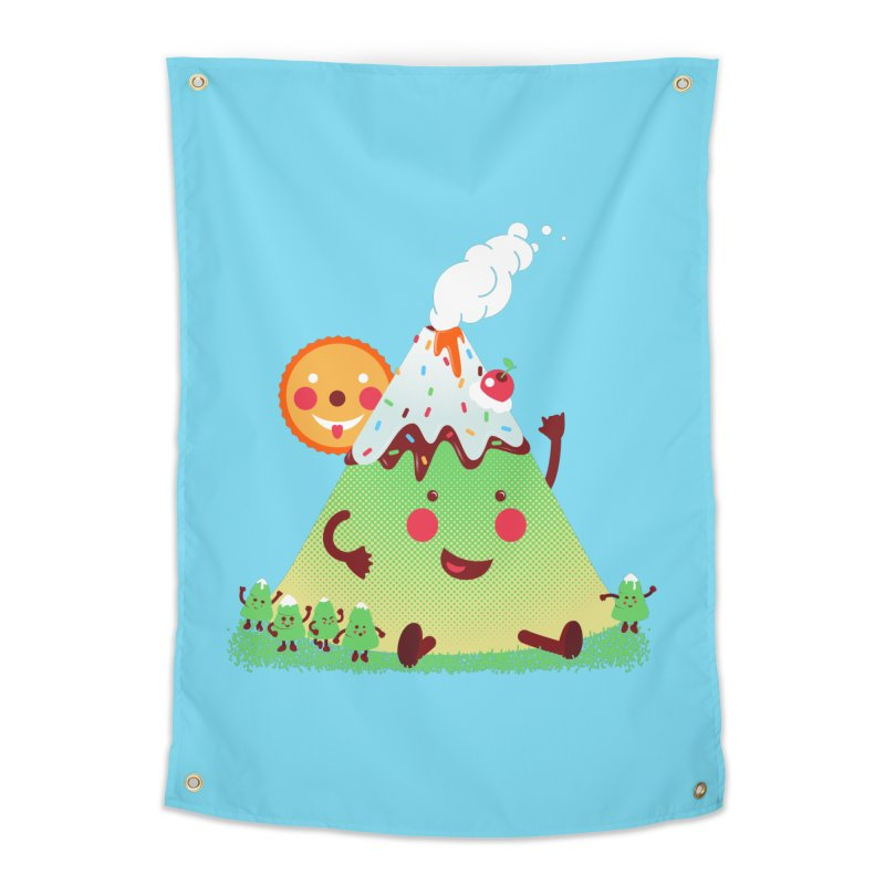 The Hill-arious Home Tapestry by MagicMagic Artist Shop