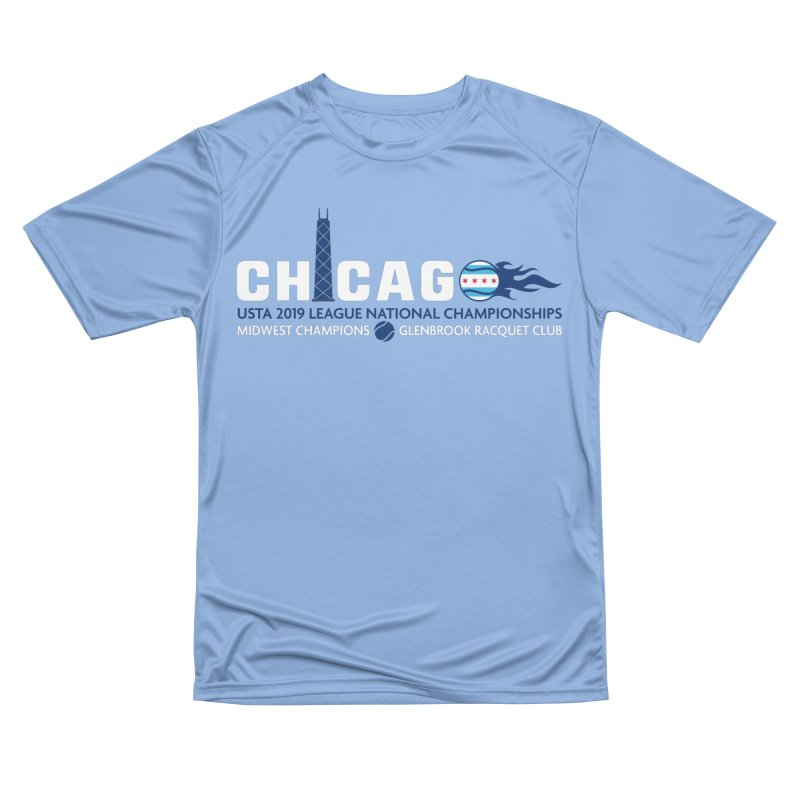 Midwest Champs in Men's Performance T-Shirt Bimini Blue by jmac