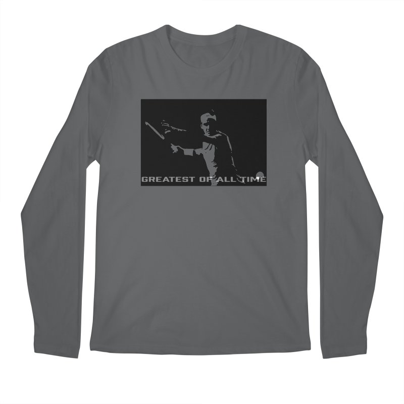 G.O.A.T. Men's Longsleeve T-Shirt by J-Mac