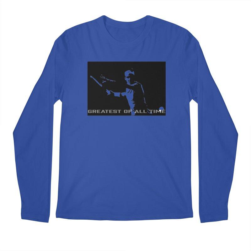 G.O.A.T. Men's Longsleeve T-Shirt by J-Mac