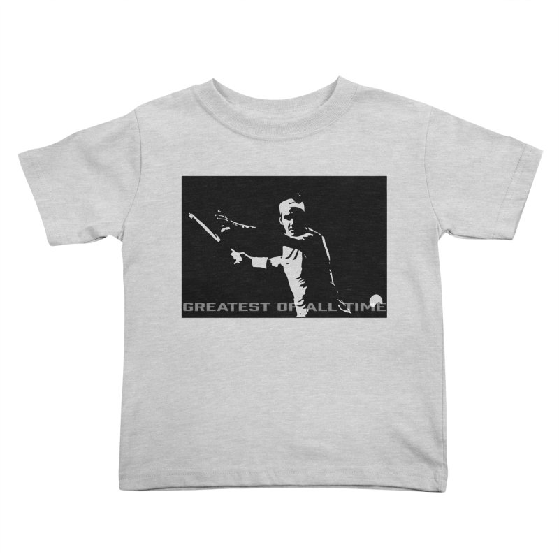G.O.A.T. Kids Toddler T-Shirt by J-Mac