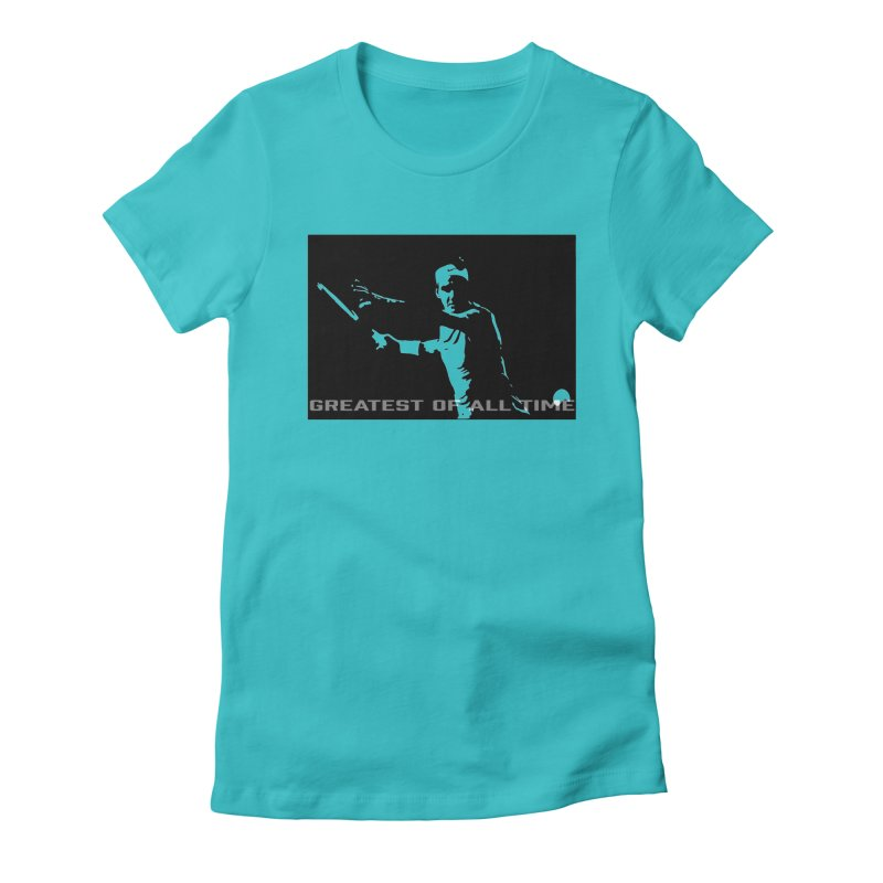 G.O.A.T. Women's Fitted T-Shirt by J-Mac