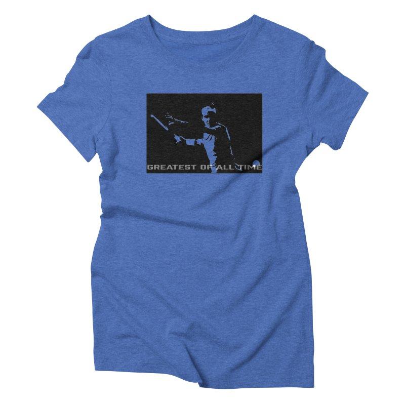 G.O.A.T. Women's Triblend T-shirt by J-Mac