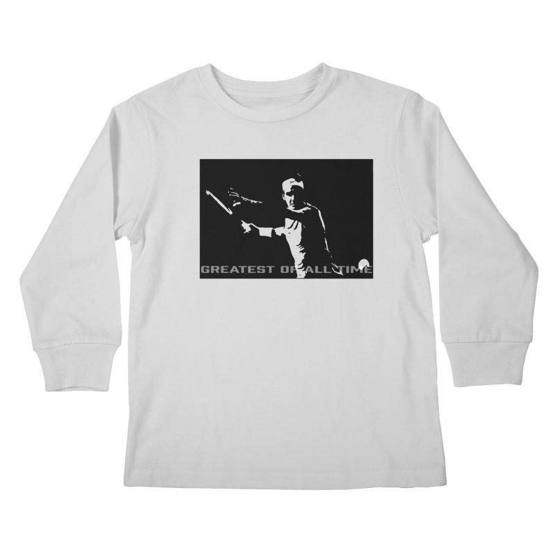G.O.A.T. Kids Longsleeve T-Shirt by J-Mac