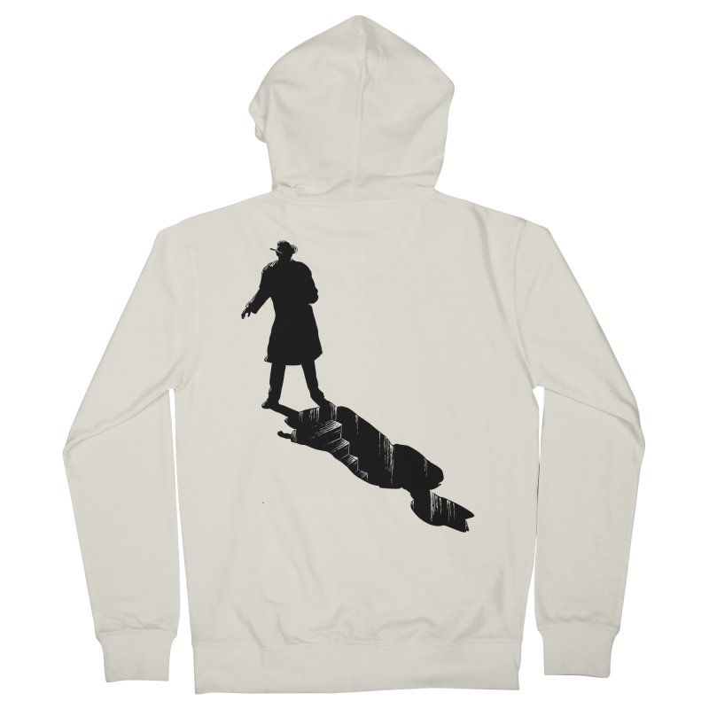 The 2nd Man Men's Zip-Up Hoody by jmg's Artist Shop