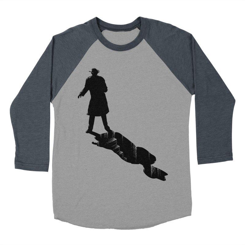 The 2nd Man Men's Baseball Triblend T-Shirt by jmg's Artist Shop