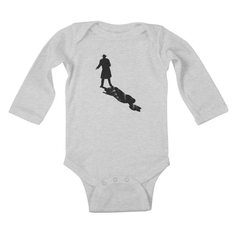 The 2nd Man Kids Baby Longsleeve Bodysuit by jmg's Artist Shop