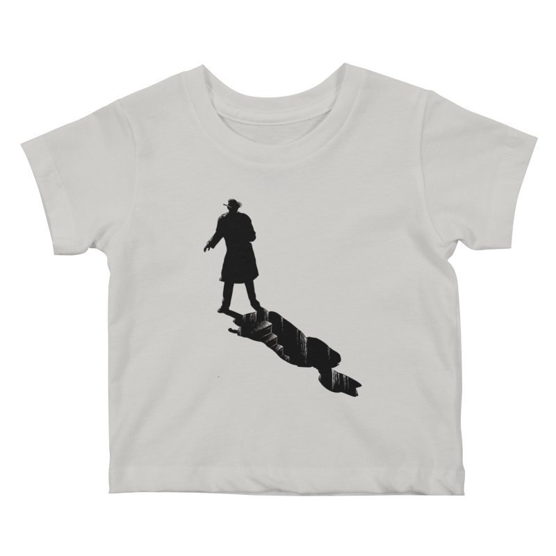 The 2nd Man Kids Baby T-Shirt by jmg's Artist Shop