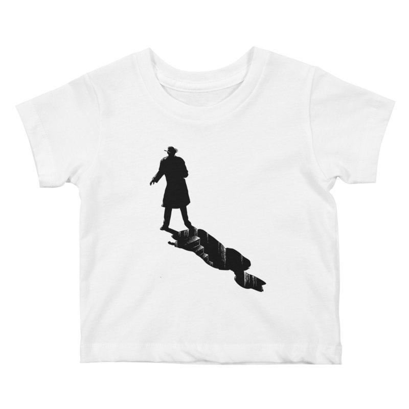 The 2nd Man Kids Baby T-Shirt by jmg's Artist Shop