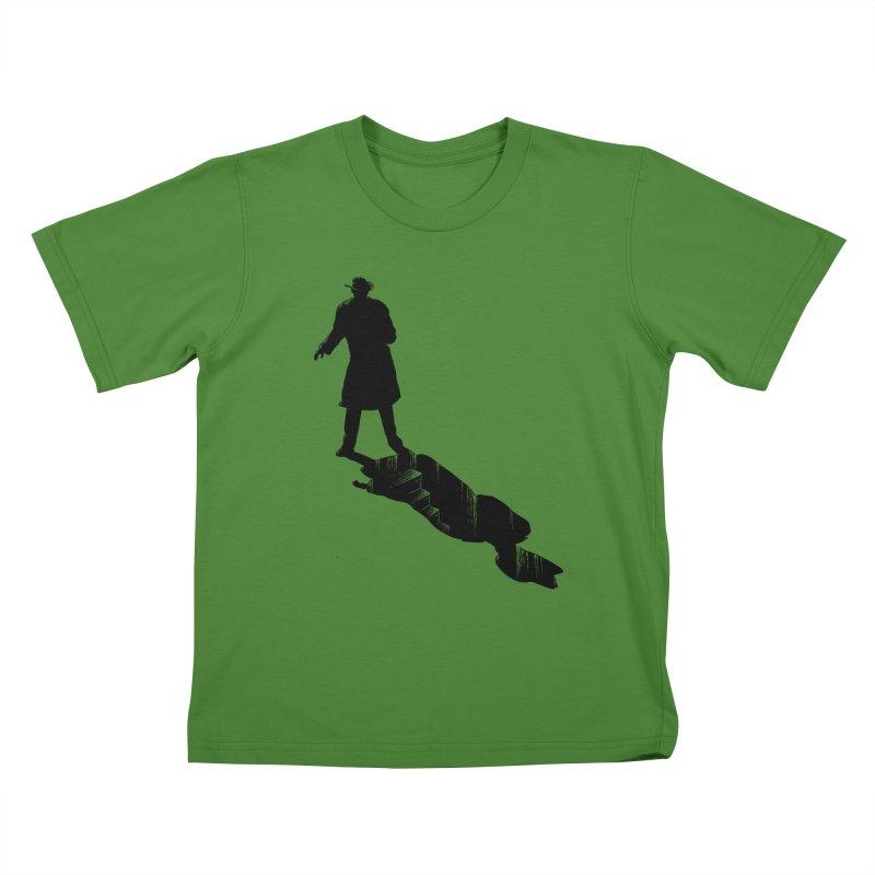 The 2nd Man Kids T-Shirt by jmg's Artist Shop
